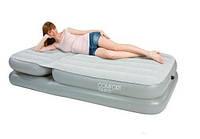 Односпальная надувная кровать BestWay 67386 с регулируемой спинкой (без насоса) 211-104-81см