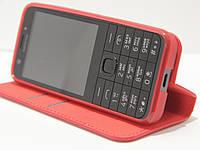 Чехол-книжка для телефона Nokia 230 Красный, фото 1