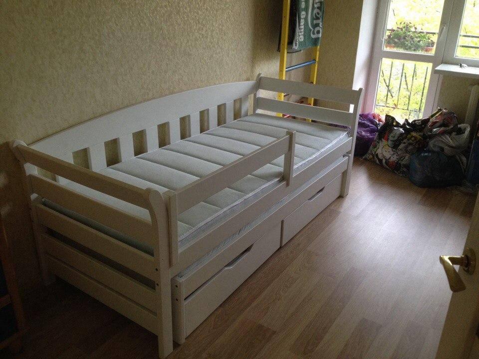 """Кровать с дополнительным спальным местом """"Тедди Duo"""""""