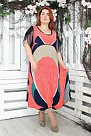 Нарядное женское платье Aribo больших размеров (60, 62, 64, 66 )
