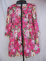 """Платье для девочки (122-140 см) (коттон) розы чайные Розница """"Odessa Mama"""" M-629"""