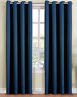 Ткань Блекаут / Blackout синий