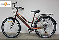 "Велосипед 26"" Discovery PRESTIGE WOMAN 2017 коричневый"