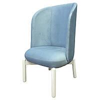 Кресло и пуф для салона красоты педикюрное Симон