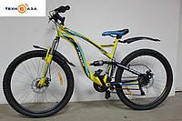 """Велосипед 26"""" FORMULA X-ROVER желтый"""
