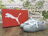 Женские кроссовки Puma by Rihanna ТОП качество; материал:натуральная кожа;Вьетнам; р-ры 36-41;серые
