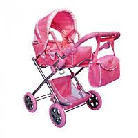 Коляска-трансформер для кукол Melogo 9379 Розовая