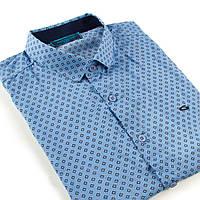 "Рубашка мужская с коротким рукавом ""GAVI GALDO"", фото 1"