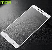 Защитное стекло Xiaomi Redmi 4Х White 3D стекло на весь экран