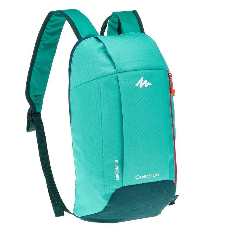 Городской рюкзак Quechua 10л. зеленый (рюкзак для спорта, спортивные р