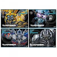 Альбом для рисования Transformers Kite 12 листов, скоба TF17-241