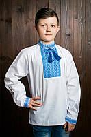 Качественная детская рубашка на длинный рукав с помпонами