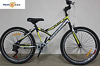 Велосипед 24'' Discovery FLINT 2018 черно-желтый
