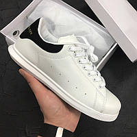 Кроссовки Adidas x Alexander McQueen Black /White. Живое фото! Топ качество! (адидас александр вонг)