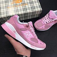 Женские кроссовки New Balance 991.5 Pink B. Топ качество. Живое фото (нью бэланс, нью баланс)