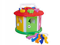 Развивающая игрушка куб умный малыш Домик технок 2438 IU