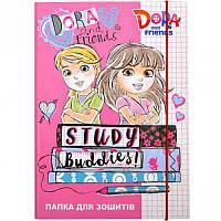 Папка для тетрадей картонная В5 «Dora» P-B5-LD-4 ПП03/19 Mandarin