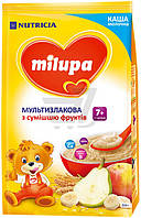 Каша Milupa сухая молочная мультизлаковая с фруктами 210 гр.с 7 мес