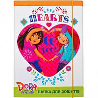 Папка для тетрадей картонная В5 «Dora» P-B5-LD-5 ПП03/18 Mandarin