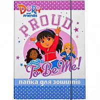 Папка для тетрадей картонная В5 «Dora» P-B5-LD-1 ПП03/16 Mandarin