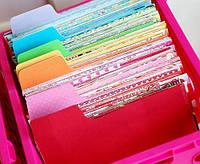 Новые коллекции дизайнерской бумаги и картона.