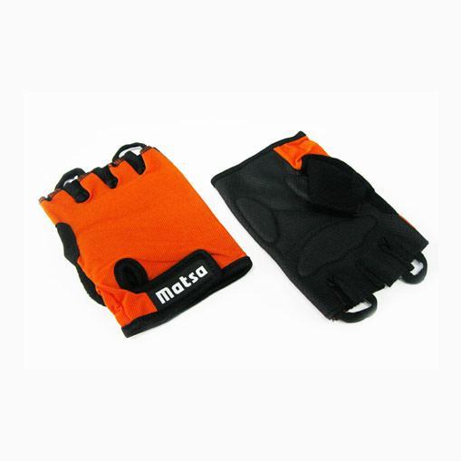 Перчатки для фитнеса,велоспорта Matsa оранж L
