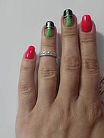 Серебряное колечко Кроха на фалангу пальца, фото 1