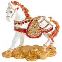 """Шкатулка ювелирная """"Лошадь"""" QF4545"""