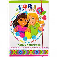 Папка для труда картонная А4 «Dora» P-A4-LD-3 ПП04/16 Mandarin