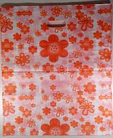Пакеты с прорезной ручкой Китай подарочные №6 50x60 (уп.100шт.)