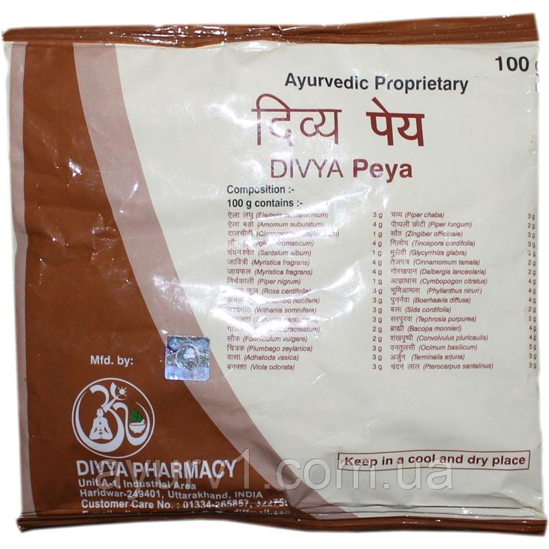 Пейя чай из 39 трав / Peya, Divya Pharmacy/ 100 г