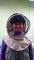 Евро маска(воротник)САРЖА с заклепкой для пчеловодов