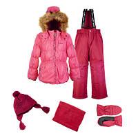 Зимний костюм для девочки Gusti Boutique GWG 4625 AZALEA PINK.