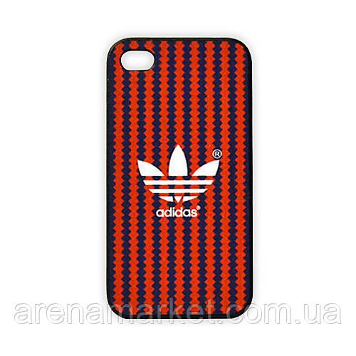 Чехол для iPhone 4/4S Adidas - полосы