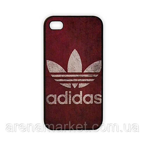 Чехол для iPhone 4/4S Adidas - фиолетовый