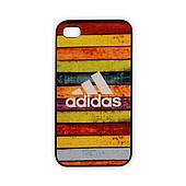 Чехол для iPhone 4/4S Adidas - радуга
