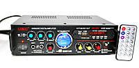 Усилитель звука UKC AV-339A + USB + КАРАОКЕ!