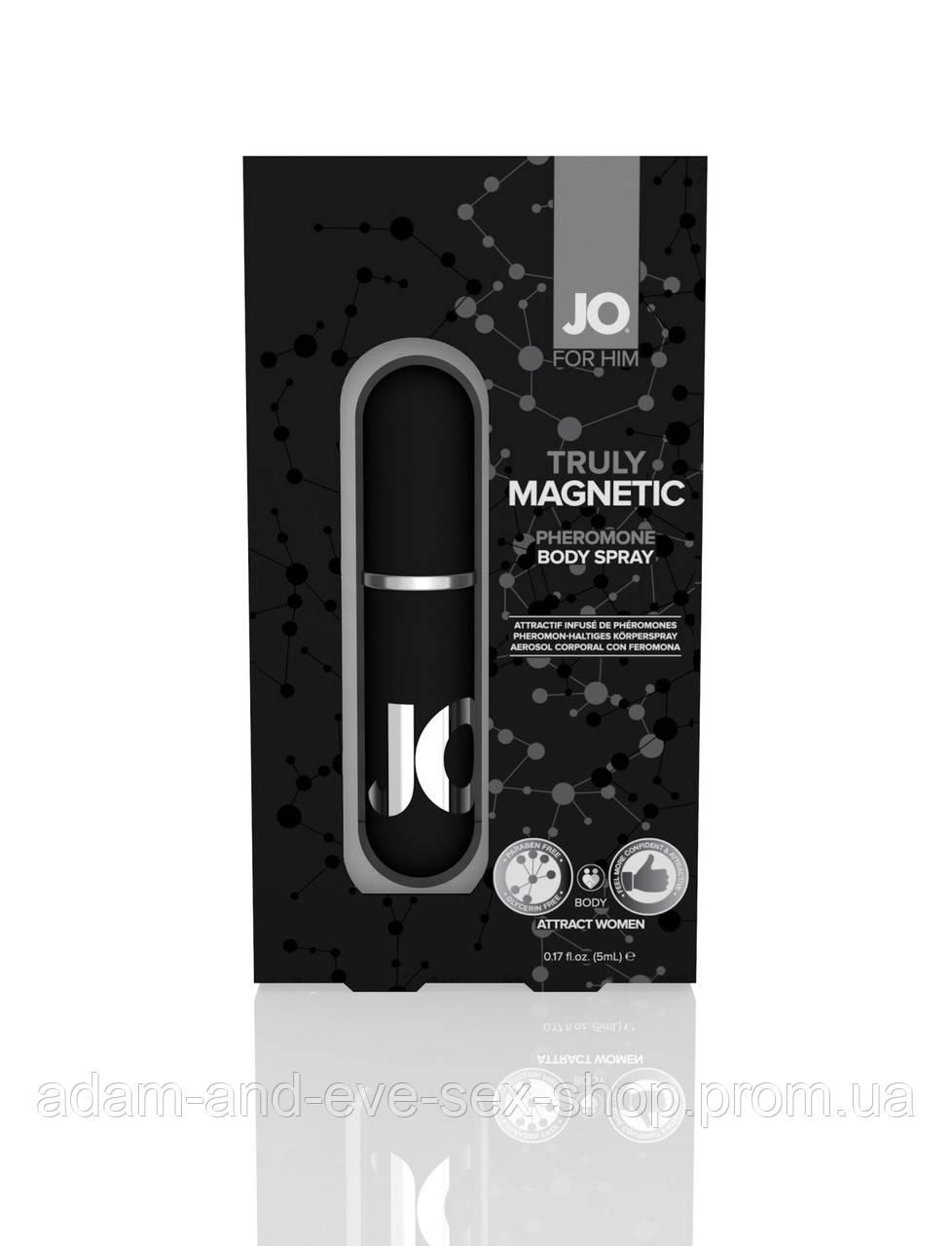 Спрей для тела с феромонами для мужчин System JO TRULY MAGNETIC 5 мл