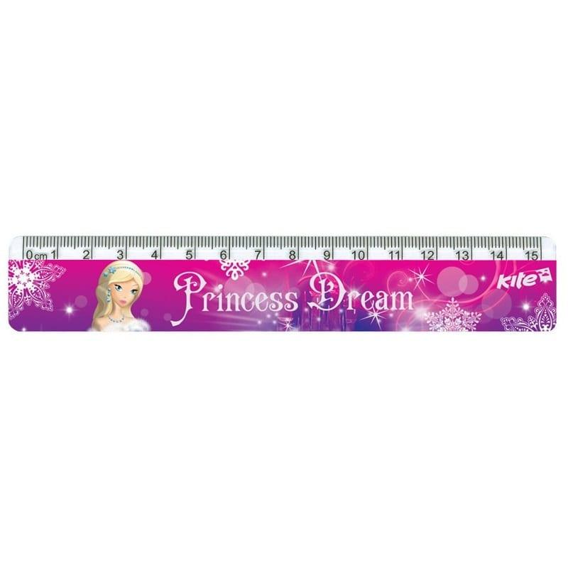 Линейка пластиковая Princess Dream K17-090-2
