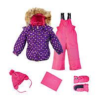 Зимний костюм для девочки Gusti Boutique GWG 4619 Grape. Размер 98-164.