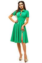 Ж189 Платье расклешенное в расцветках размеры 42-48, фото 2