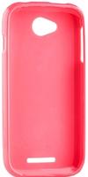 Чехол для сматф. MELKCO Lenovo A1000 Poly Jacket TPU Розовый