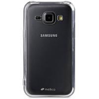 Чехол для сматф. MELKCO Samsung J1 mini/J105 Poly Jacket TPU прозрачный