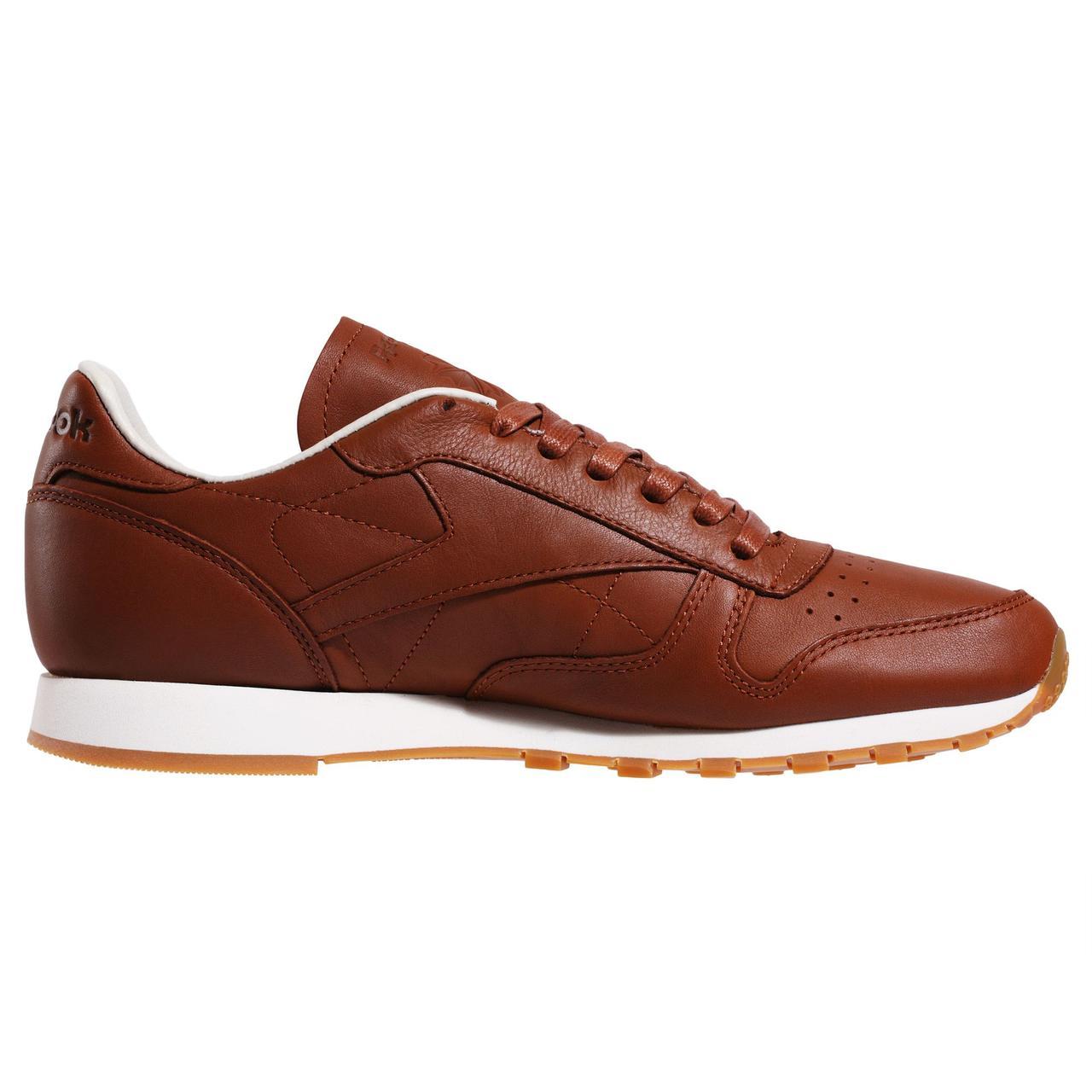 Мужские кроссовки Reebok Classic Leather LUX (Артикул  BS7495) -  Интернет-магазин « a395cb1f3d676