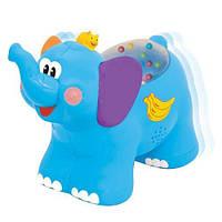 Игрушка-каталка - СЛОНИК для детей от 1 года (звук) ТМ Kiddieland - preschool 051698