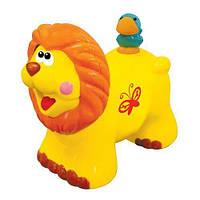 Игрушка-каталка - ЛЬВЕНОК для детей от 1 года (звук) ТМ Kiddieland - preschool 051706