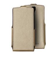 Чехол для сматф. Red Point ZTE Blade L5Plus - Flip case (Золотистый)