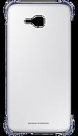 Чехол для сматф. SAMSUNG A7 2016/A710 - Clear Cover черный