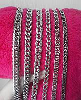 Стильные цепочки из медицинской стали 316L. Ширина 8, 9, 12, 13мм. Лучше серебра, не окисляются, не чернеют.