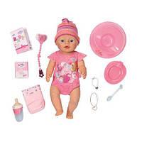 Кукла BABY BORN - ОЧАРОВАТЕЛЬНАЯ МАЛЫШКА для детей от 3 лет (43 см, с аксессуарами) ТМ Zapf 822005